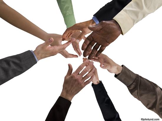 Reachng-hands