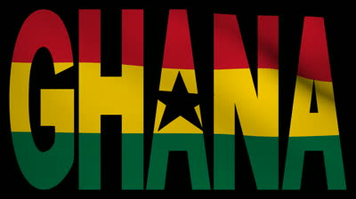 Ghana flag and name