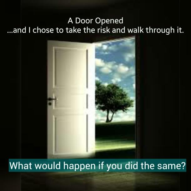A Door Opened